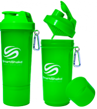 SmartShake  Шейкер Neon (slim) 500 мл