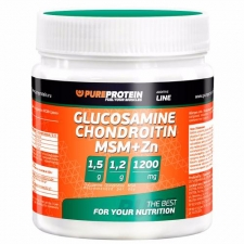Glucosamine Chondroitin+MSM, Zn 100г