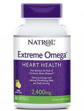 Natrol Extreme Omega 2400 mg 60 кап