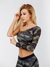 """Bona Fide: Rashguard Mini Single """"Military Special Forces"""""""