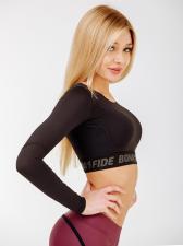 "Укороченный рашгард Bona Fide: Rashguard Mini Brand Pro ""Black"""