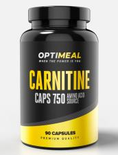 OptiMeal L- Carnitine Caps 750 90 кап