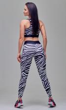 MANSEN Леггинсы Zebra