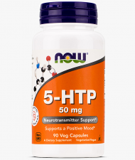 NOW 5-HTP 50 mg 90 кап