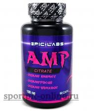 Epic Labs AMP Citrate 100 мг 90 кап