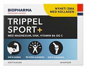 Biopharma Trippel Sport+ ZMA 60 кап