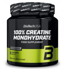 BioTech 100% Creatine Monohydrate 300 гр NEW DESIGN