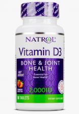 Natrol Vitamin D3 2000 ME 90 таб