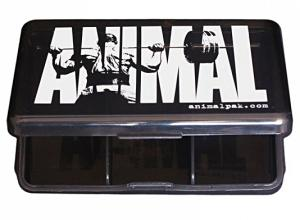 Animal Energy Iconic Pill Case Black