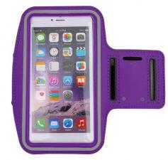 Чехол для телефона на руку защитный (цвета: черный, сиреневый)
