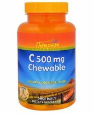 Thompson Vitamin C 500 мг Chewable 60 таб