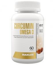 Maxler Curcumin + Omega 3 60 кап