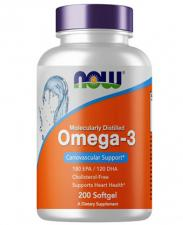 NOW Omega-3 1000mg 200 кап