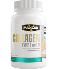 Maxler Collagen type 1 and 3 90 таб