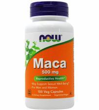 NOW Maca 500 mg 100 кап