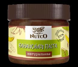 NUTCO Натуральная банановая паста 300 гр