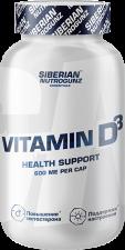 Siberian Nutrogunz Витамин Д3 600ME 180 кап