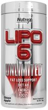 Nutrex Lipo-6 Unlimited Powder 150 гр