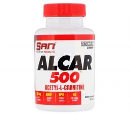 SAN Alcar 500 мг (Acetyl L-carnitine) 60 кап