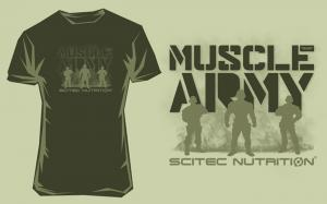 Scitec Nutrition Футболка Muscle Army Soldier