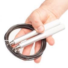 Скоростная скакалка металлические ручки