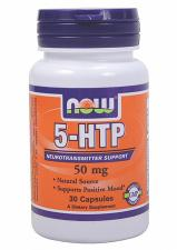NOW 5-HTP 50 мг 30 кап