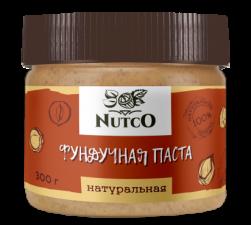 NUTCO Фундучная натуральная паста 300 гр