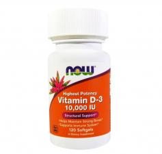 NOW Vitamin D-3 10000 IU 120 кап