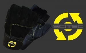Scitec Nutrition Перчатки Yellow Style