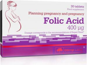 Olimp Nutrition Folic Acid 30 таб