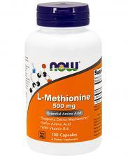 NOW L-Methionine 500 мг 100 кап