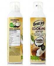 Best Joy  Cooking Spray 100% Oil (Кокосовое спрей-масло) 201 гр