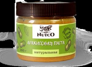NUTCO Арахисовая паста в ассортименте 300 гр