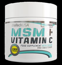 BioTech MSM + VITAMIN C 150 гр