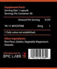 Epic Labs Myostine YK-11 90 кап