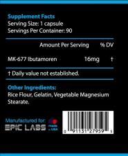 Epic Labs Ibutamoren Mk-677 16 mg 90 кап